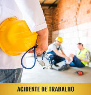 Sofreu acidente de trabalho?