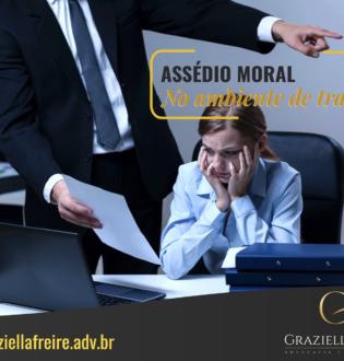 Assédio Moral no ambiente do trabalho