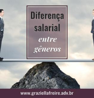 Diferença salarial entre gêneros