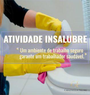 Limpeza de banheiros de hotel e de motel é atividade insalubre em grau máximo