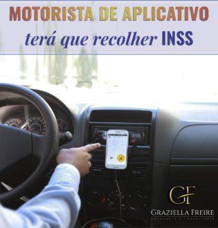 Motorista de aplicativo terá que recolher INSS