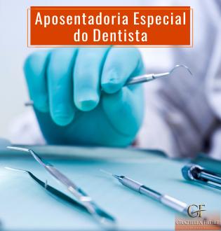 Dentistas têm direito à aposentadoria especial